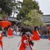 今宮神社 やすらい祭は疫病を鎮める行事