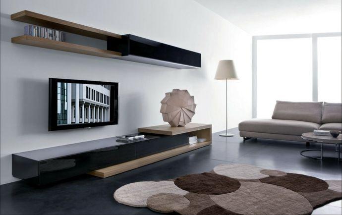 tv sideboard wohnzimmer einrichtung – edgetags, Attraktive mobel