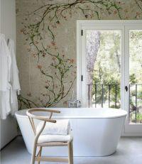 Designer Tapeten und Wanddekoration frs Badezimmer