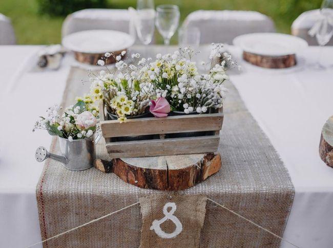 Tischdekorationsideen fr den Hochzeitstag  Trendomatcom