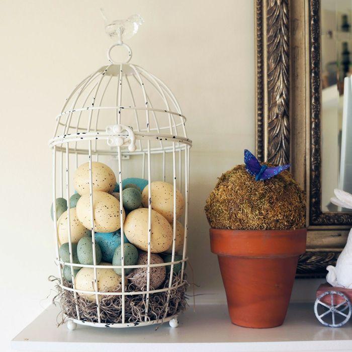 Tolle Deko Ideen mit Vogelkfigen  Trendomatcom
