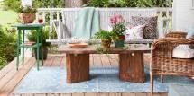 Wege Die Terrasse Sommerzeit Vorzubereiten