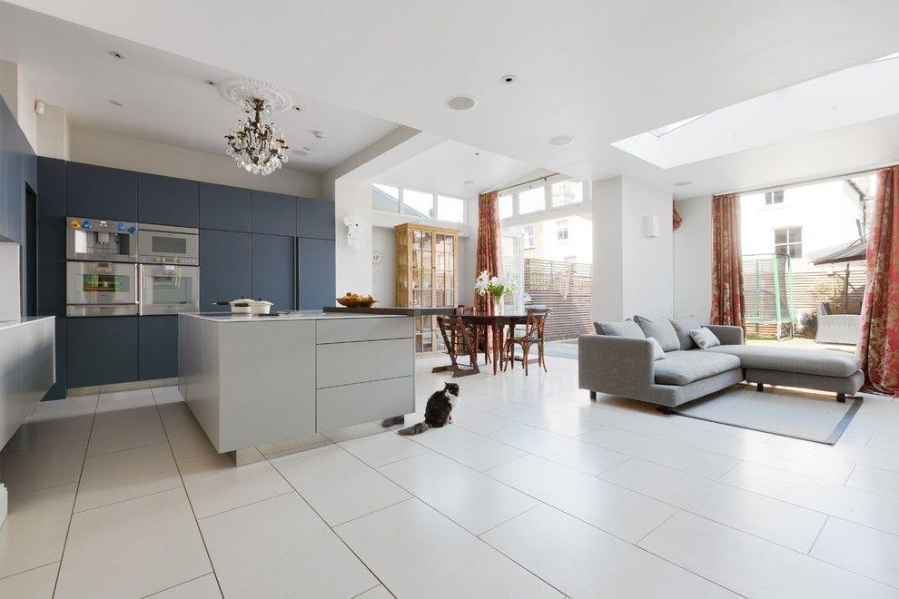 Offene kuche wohnzimmer modern - Moderne kuche mit wohnzimmer ...