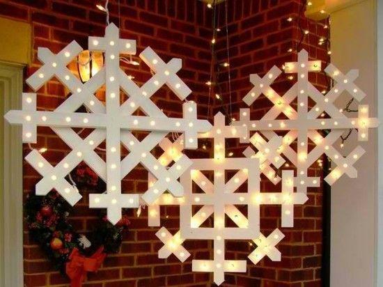 Elegante Weihnachtsdekoration die Sie selber basteln
