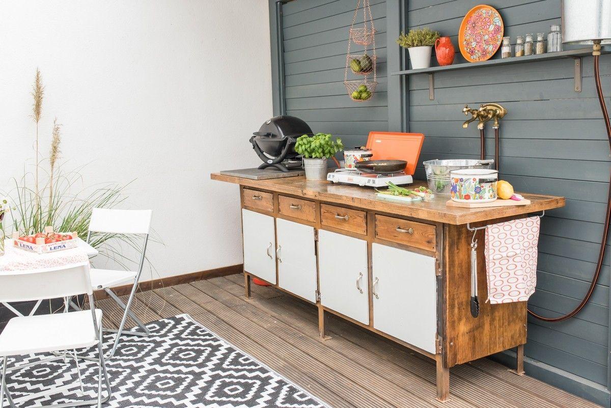 Outdoorküche Klappbar Ikea : Outdoor küche deutschland küche modern mit altholz geschirrspüler