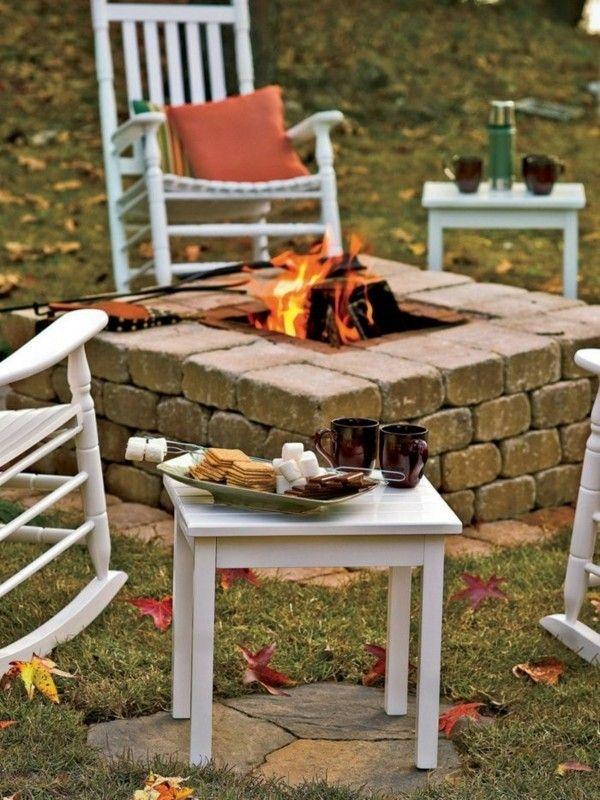 Offene Feuerstelle im Garten  spren Sie die Wrme und Magie des Feuers im eigenen Auenbereich