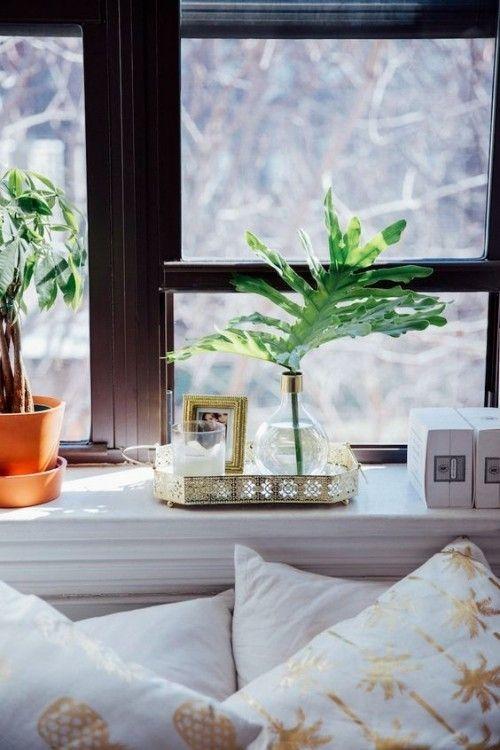 Fensterbank Deko Ideen die jedes Ambiente auffrischen