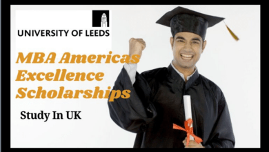 Leeds MBA Americas Excellence Scholarships, UK 2021-22