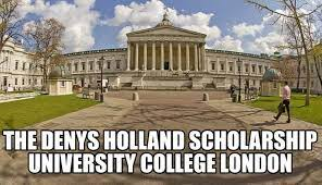 The Denys Holland Scholarship at University College London 2021-2022