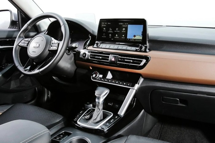 New Kia Seltos 2021 Interior Dimensions