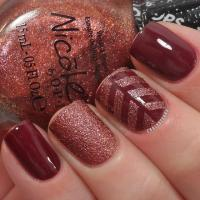 35 Gorgeous Fall Nail Art Ideas   The Crafting Nook by ...