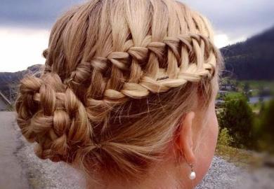 Braided Bubble Bun Dance Hairstyle Tutorial Hairstyles