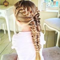 Topsy Tail Hair Braid | french braid topsy tail