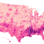 Map: Empire Popularity In US