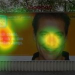 Billboard Eyetracking Heatmap
