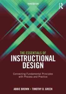 Cover of Essentials of Instructional Design Book