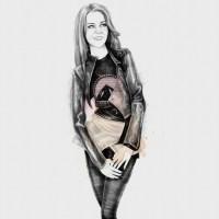 Kate Middleton as a Downtown Fashionista