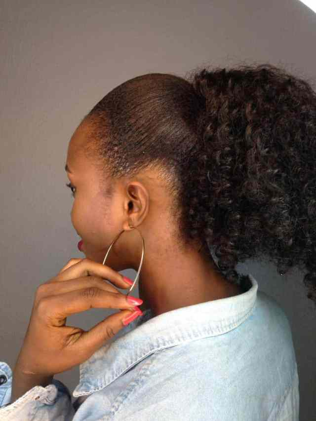 Easy Natural hair styles