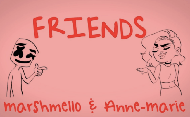 Marshmello Anne Marie Release New Video For Friends