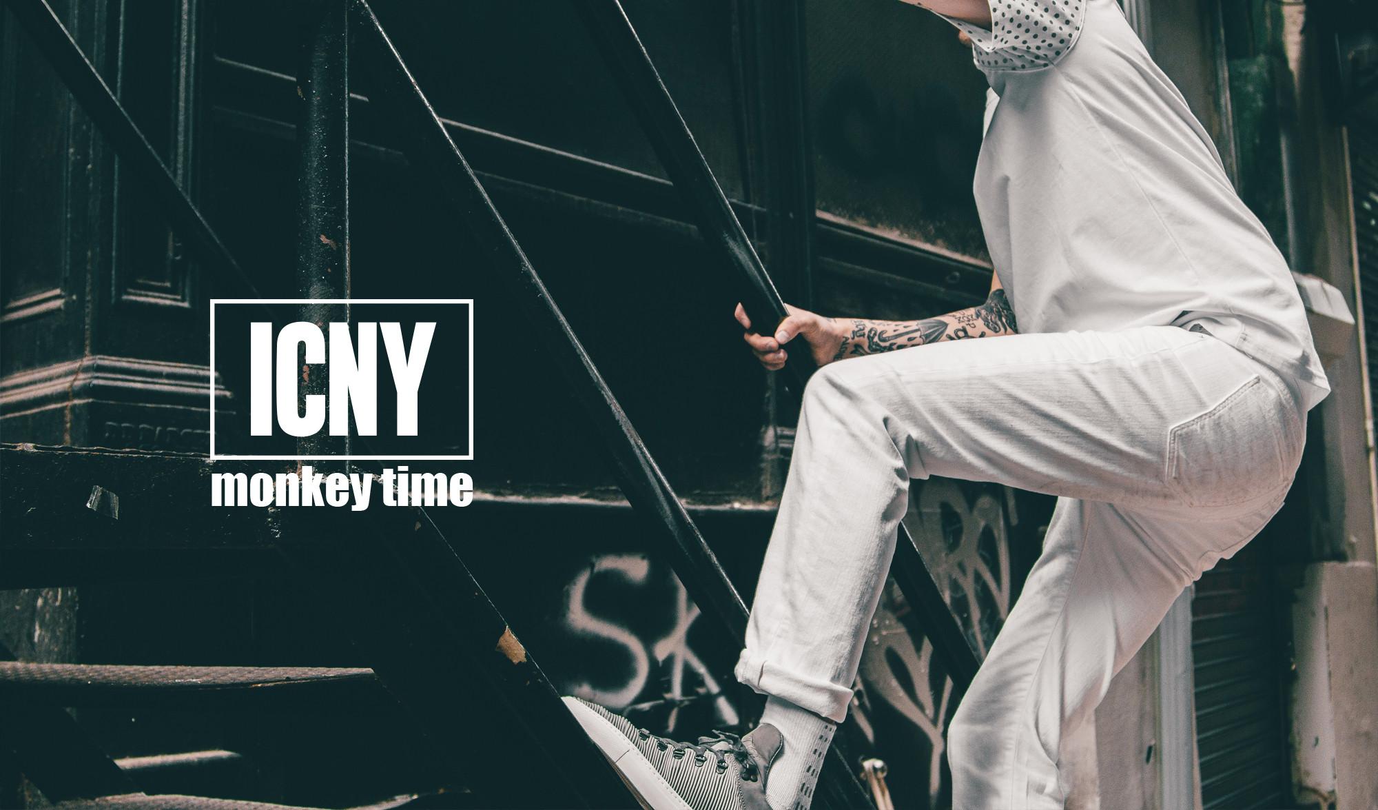 機能時尚品牌ICNY與日本品牌Monkey Time 2015聯名系列 - TRENDSFOLIO