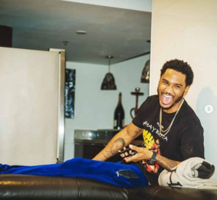 Trey-Songz-video-went-viral-on-Twitter