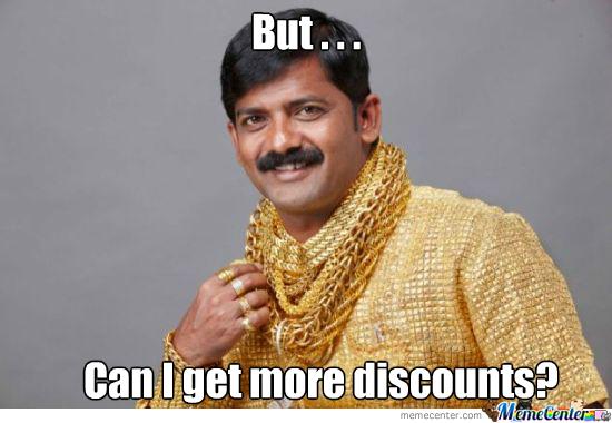 discount price meme