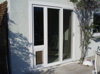 Sliding Screen Door: Sliding Screen Door With Doggie Door ...