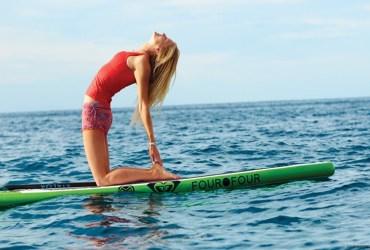 Yoga for better surfer