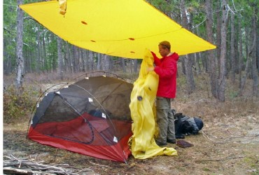Camping In Wet Weather