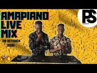 PS DJZ Amapiano Mix 09 October 2020 Mp3 Download