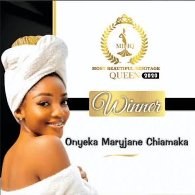 Most Beautiful Heritage Queen Winner 2020