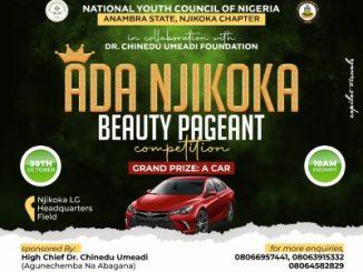 Ada Njikoka Beauty Pageant