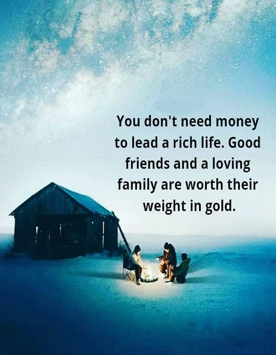 Good Friends & Loving Family - Awesome Life Quotes