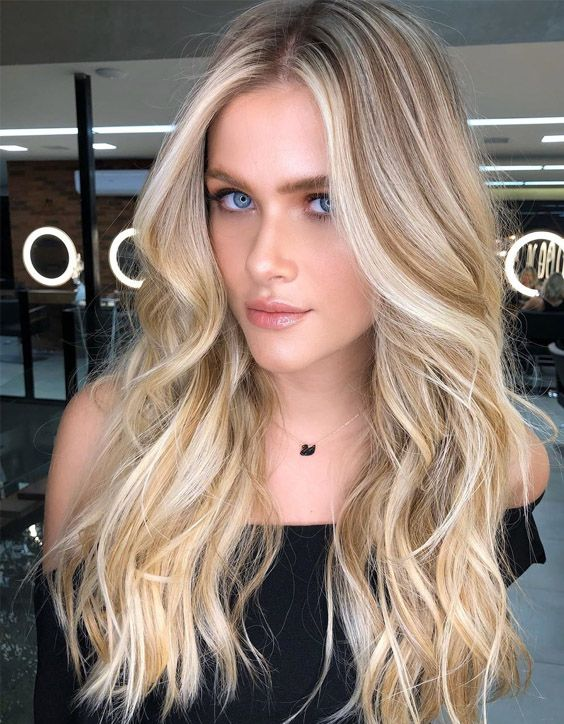 Gorgeous Blonde Haircuts & Style for Long Hair