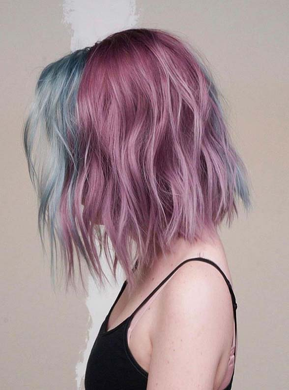Lavender Lob Haircuts You Must Show Off in 2020