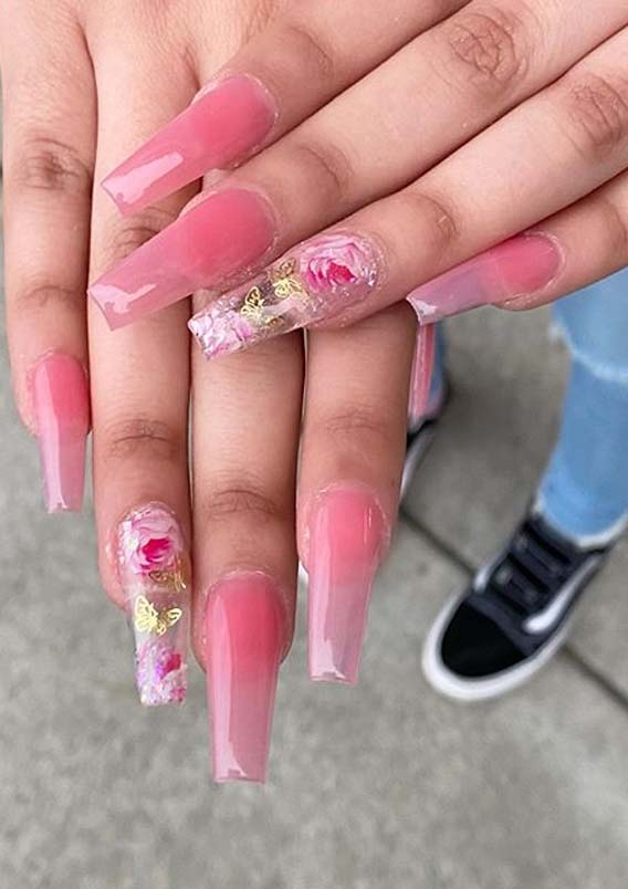 Pink Nail Arts and Designs for Cute Hands in Year 2020