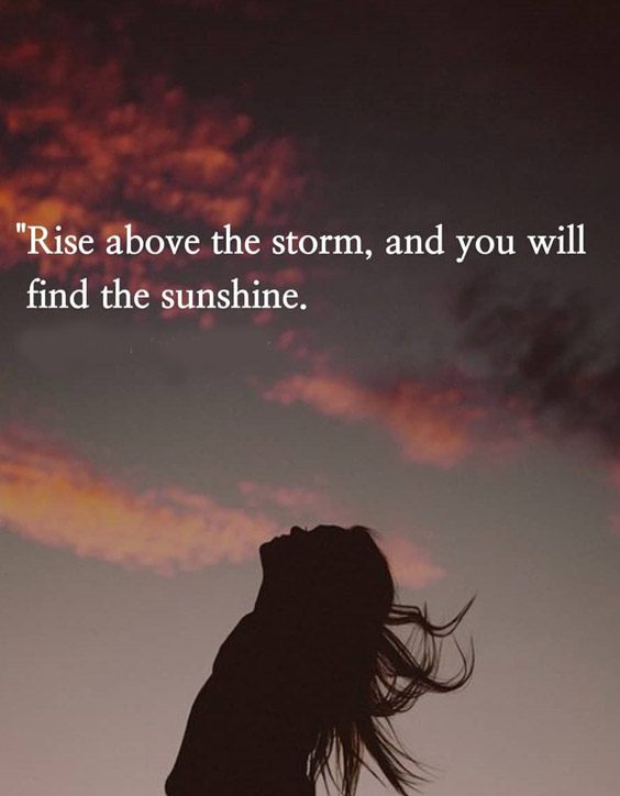 You will Find the Sunshine - Positive Quotes to Read now