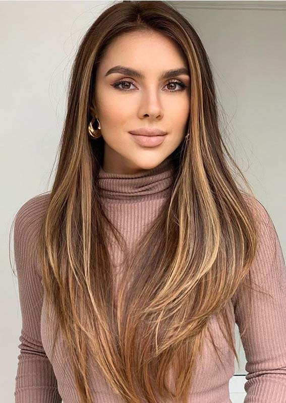 Best Of Balayage Hair Colors for Long Straight Hair in 2020