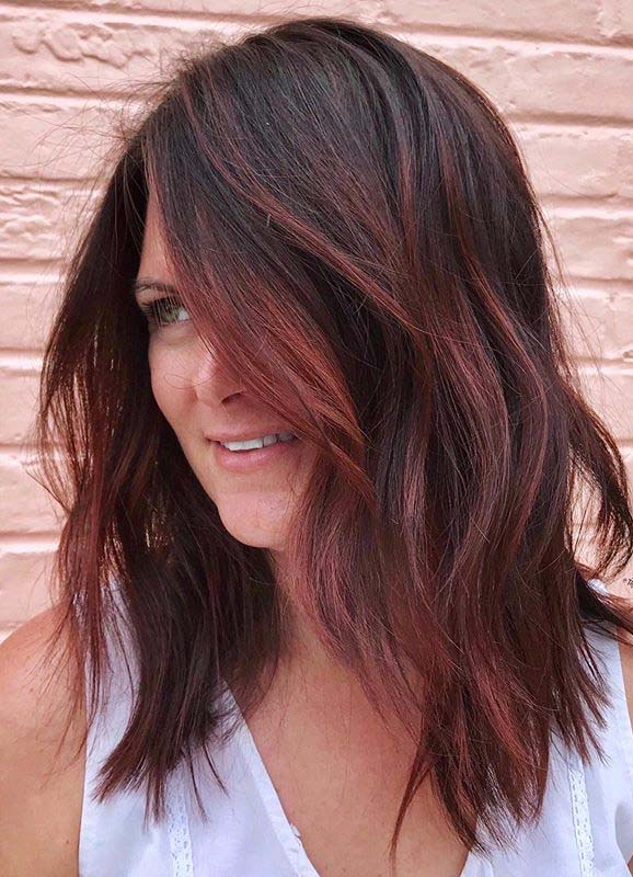 Fantastic Red Balayage Hair Color Ideas for Women in 2020