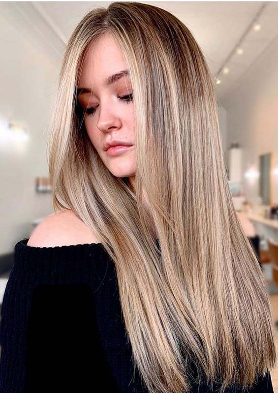 Latest Bronde and Balayage Hair Colors Combo to Try in 2020