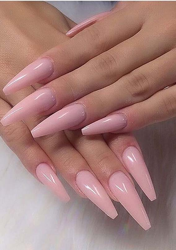 Lovely Pink Nail Arts and Designs for Women to Follow in 2020