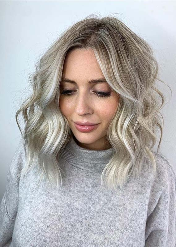 Obsessed balayage and baby lights for women in 2020