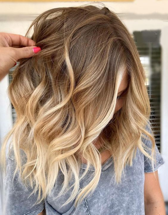 Elegant Blonde Hair Highlights for 2020 Medium Hair