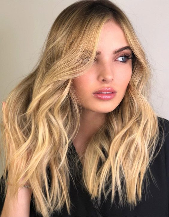 Stunning Long Hair Color Highlights for 2020