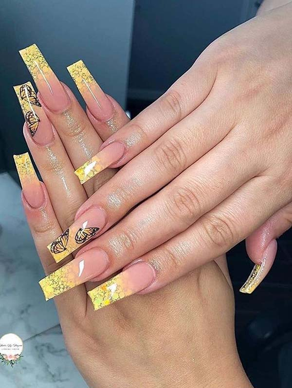 Favorite Long Nail Arts and Images for Bold Ladies in 2020