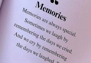 Remembring the days we Cried - Best Memory Quotes