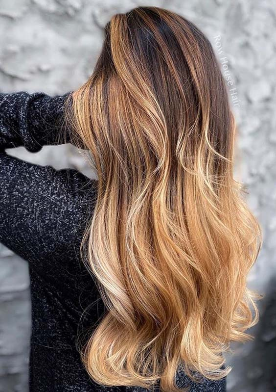 Awesome Fall Balayage Hair Colors and Hairstyles in 2020