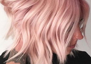 Rose Hair Color Ideas for Short Hair to Show Off in 2020