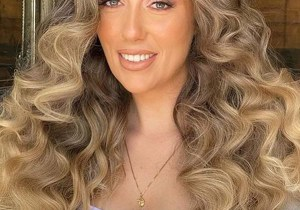 Stunning Voluminous Curls for Long Hair to Try Nowadays