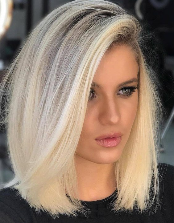 Fabulous Style of Medium Blonde Hair to wear Now